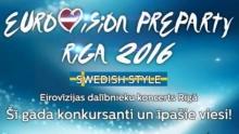 Pre Party Eurovision в Риге пройдет 2 апреля